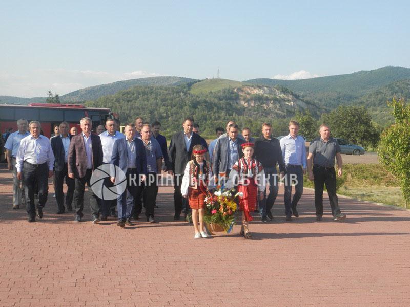 Хуст відвідали представники Комітету з питань бюджету Верховної Ради України. ФОТО