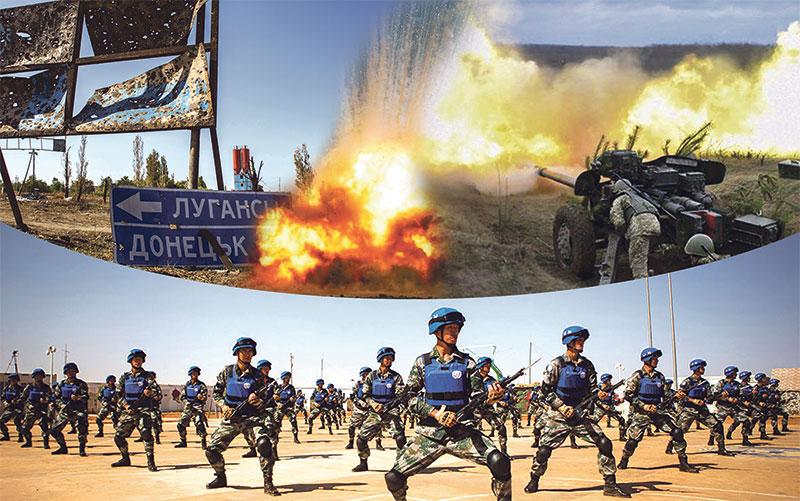 Порошенко закликав Радбез ООН відправити миротворців наДонбас