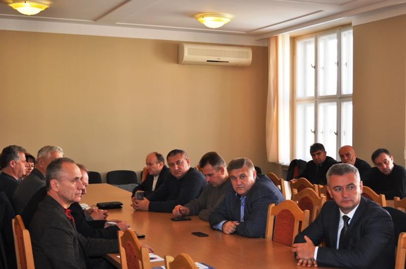 На Закарпатті перебуває делегація Асоціації «Ради Чернігівщини»
