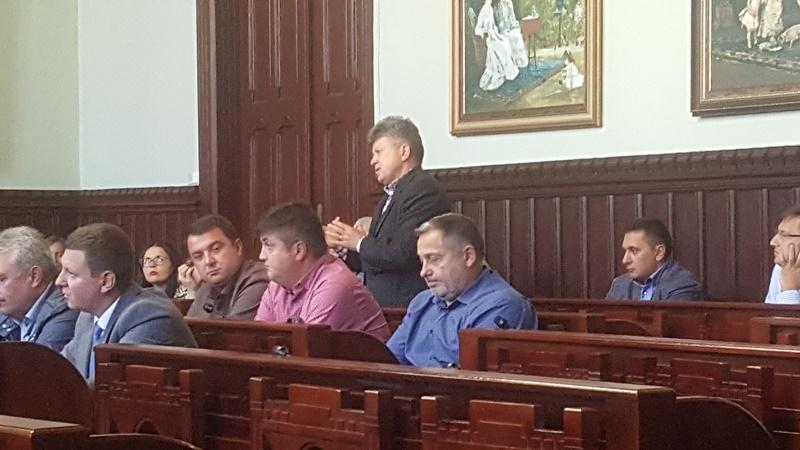 У Мукачеві пройшла зустріч екс-міністра фінансів Словаччини Івана Міклоша з діловими колами міста